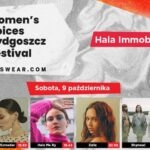 Women's Voices Bydgoszcz Festival inspired by Answear.com, 9-10.10.2021